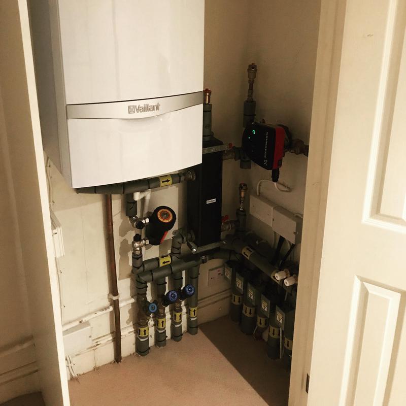 Image 5 - Boiler installation