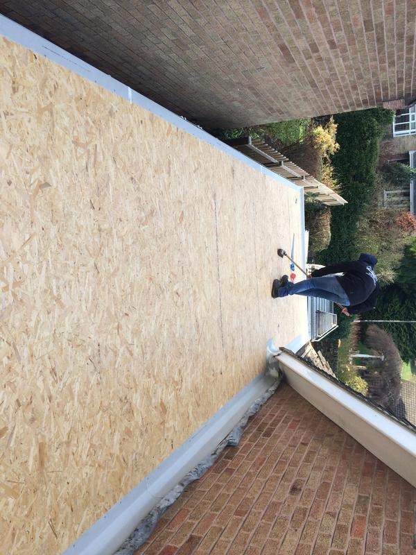 Image 1 - 18 mil OSB board and trims fitted