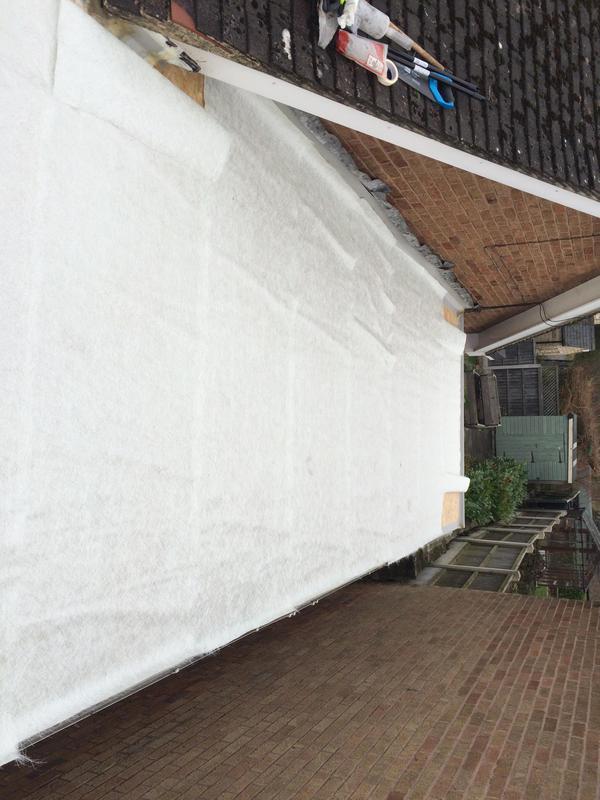 Image 2 - Fibreglass netting cut to size