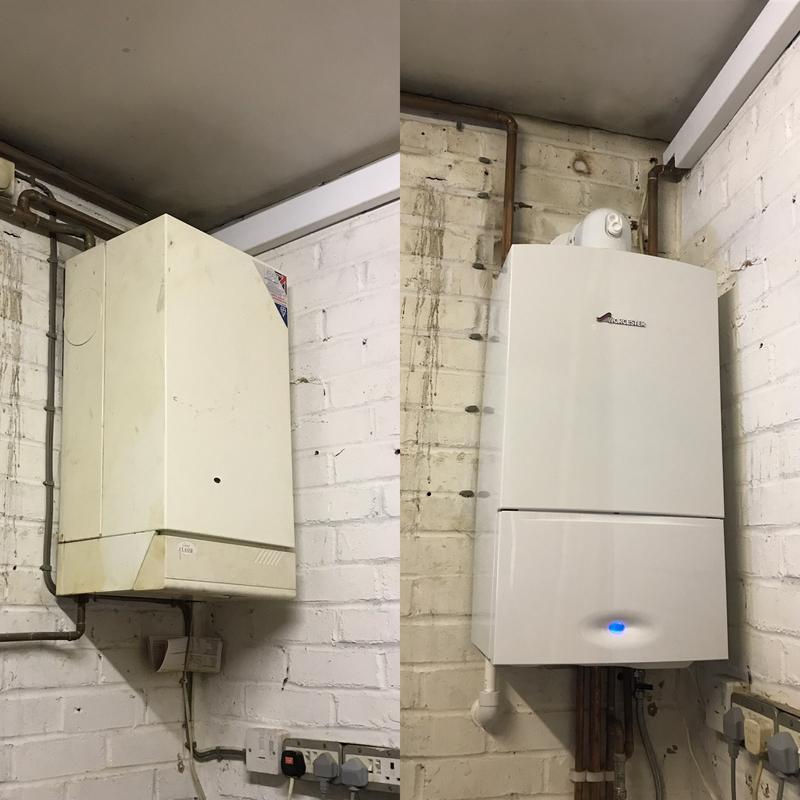 Image 14 - Boiler Installation