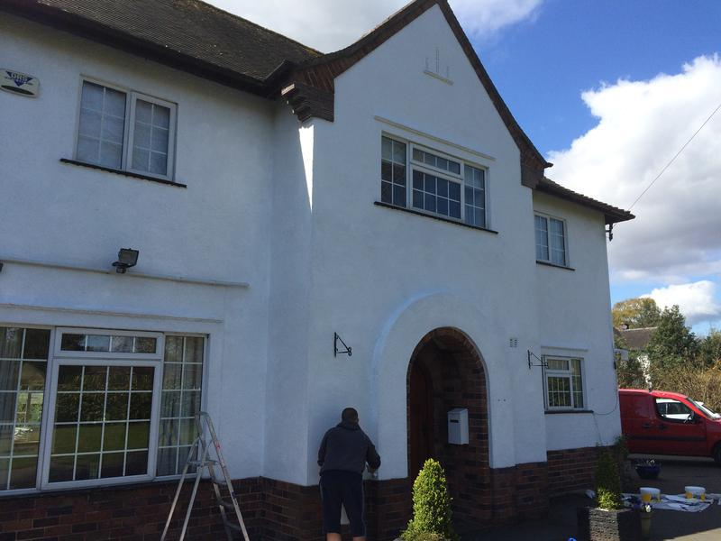 Image 8 - Full exterior painting in Ruabon