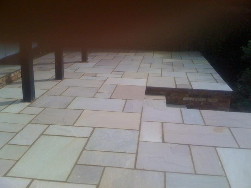 Image 9 - indian sandstone patio in rickmansworth 1