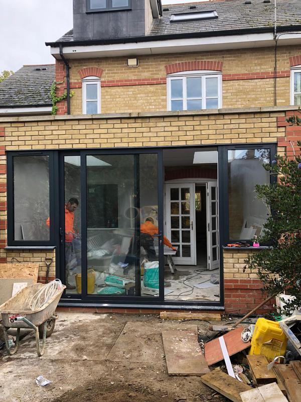Image 17 - Rear extension, new kitchen, bathroom, Enfield