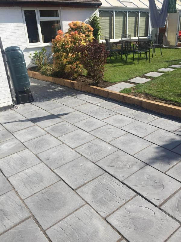 Image 93 - new patio Wollaton Nottingham