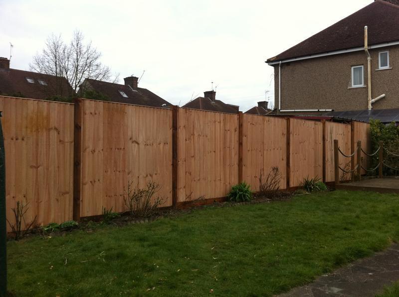 Image 1 - close-board panel fencing