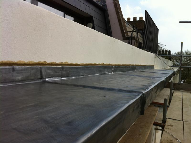 Image 12 - huge cornice detail in code 6 lead with welted drip details