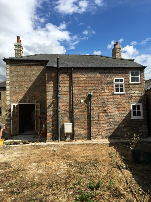 Image 70 - Grade II Listed property before extension and pointing