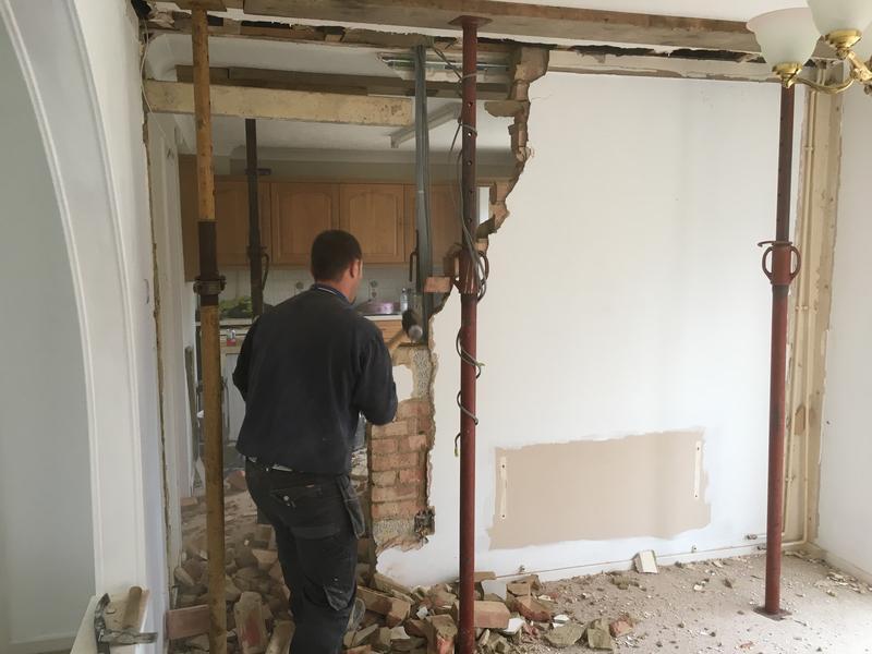 Image 12 - Demolition wall