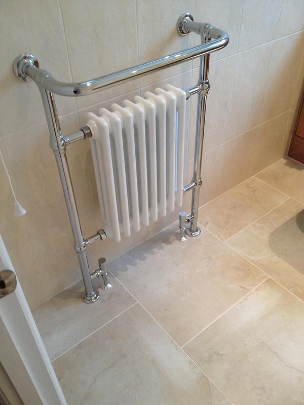 Image 11 - Traditional Towel Rail