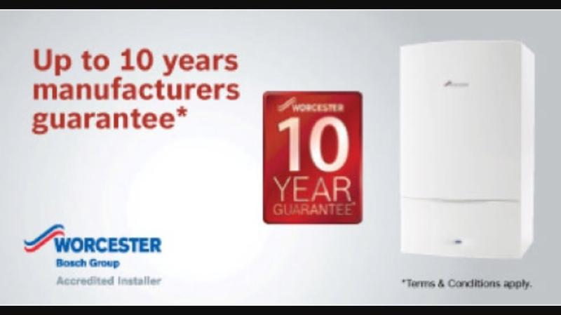 Image 3 - 10 years guarantee on selected Worcester products