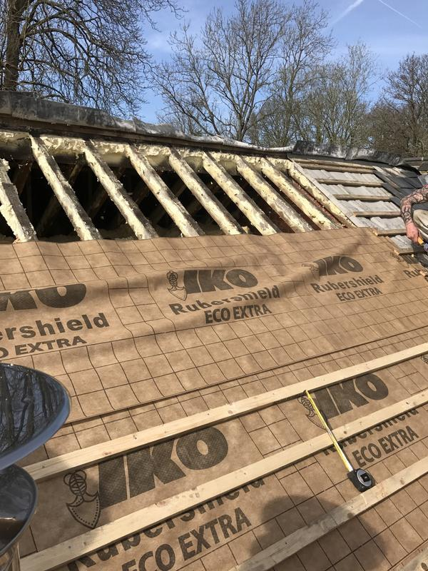 Image 66 - Slate roof renewal in Pirbright Surrey