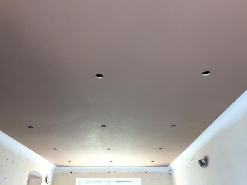 Image 21 - Over board and skimmed ceiling