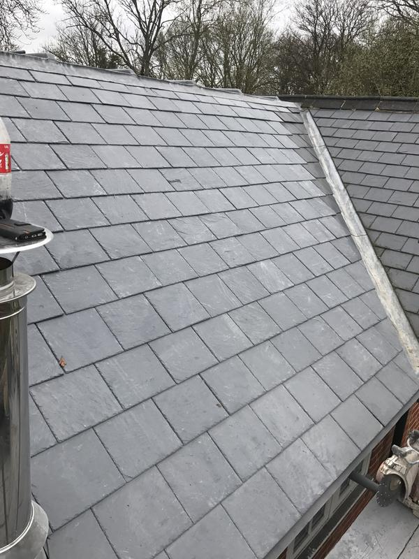 Image 67 - Slate roof renewal in Pirbrigt Surrey