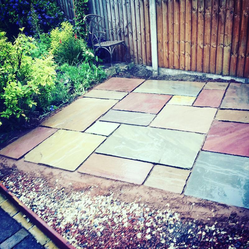 Image 84 - Indian stone patio