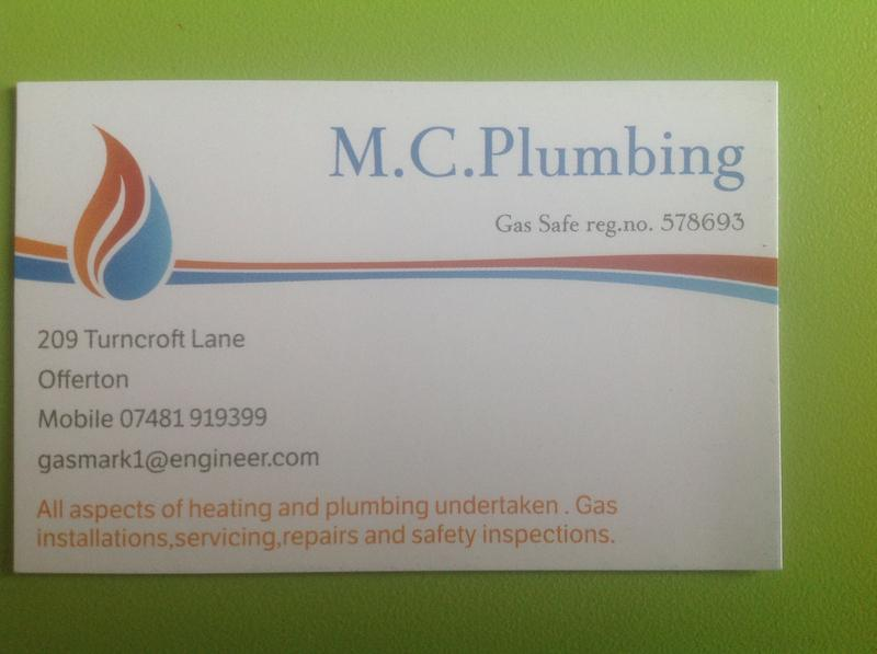 MC Plumbing logo