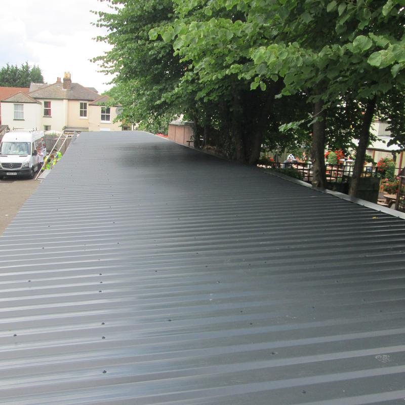 Image 3 - Asbestos Cement garage roof (After)