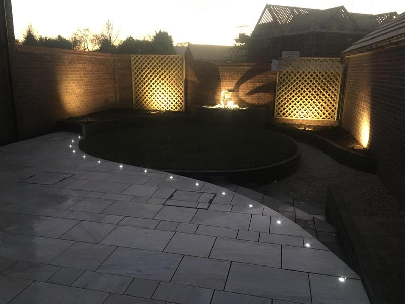 Image 6 - Stonemarket 'Equinox' Paving with LED Lighting