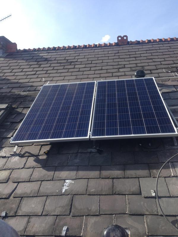Image 9 - Installing solar panels