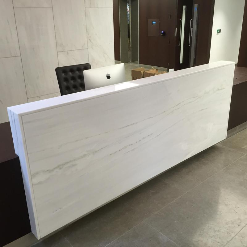 Image 1 - marble reception desk