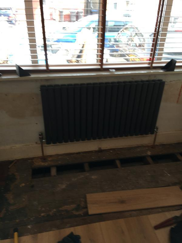 Image 23 - New radiator and new pipe work 5/6