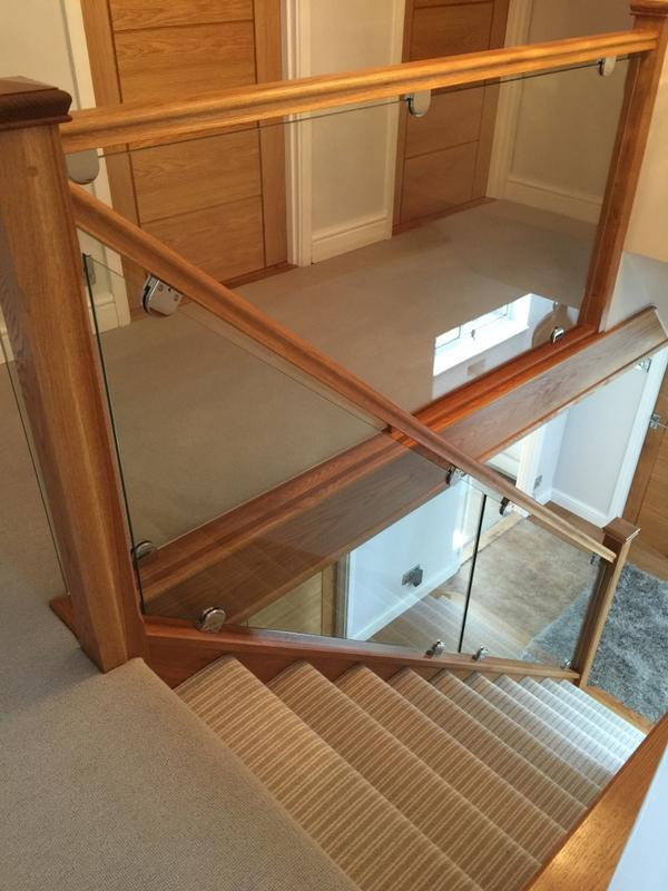 Image 15 - ooen your stairs up and let the light in with oak and glass plannels all glass is toughened