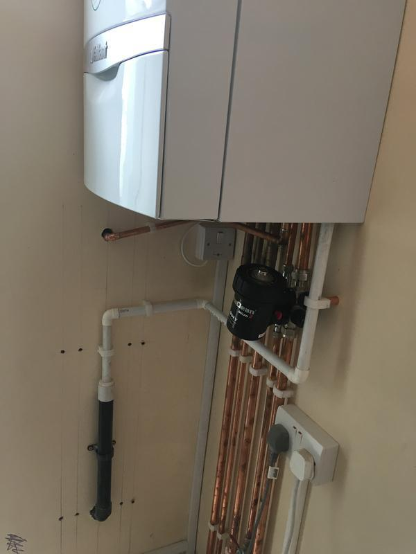 Image 20 - Boiler with all new pipe work 2/6