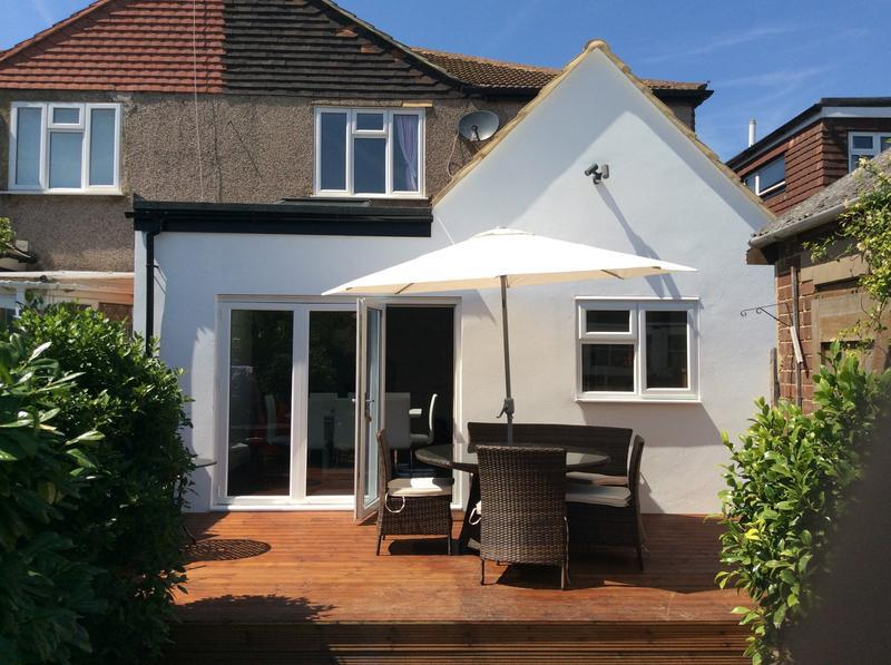 Image 11 - This is the after picture of a rear extension is Sidcup