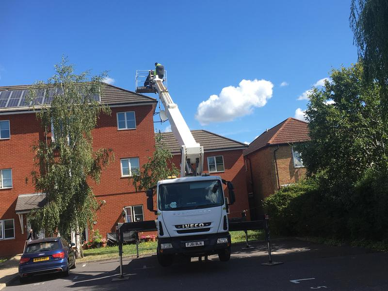 Image 27 - Roof repair's carried out without the need for scaffolding across London and the South East of England
