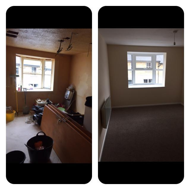 Image 26 - Duplex Lounge refurb before and after.