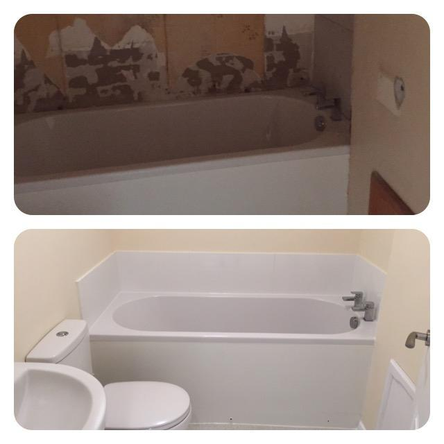 Image 28 - Duplex bathroom refurb, before and after.