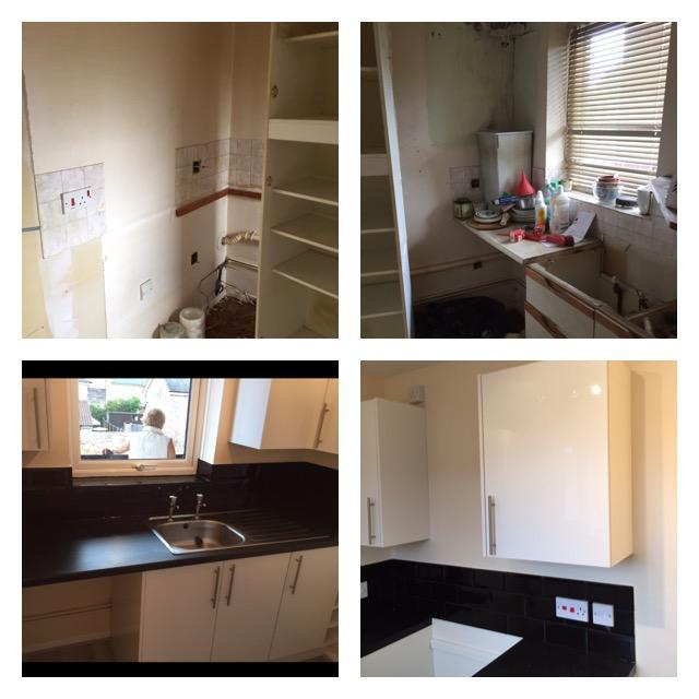 Image 29 - Duplex kitchen refurb, before and after.