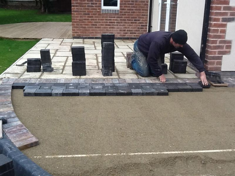 Image 49 - the blocks are meticulously laid, Oct 2012