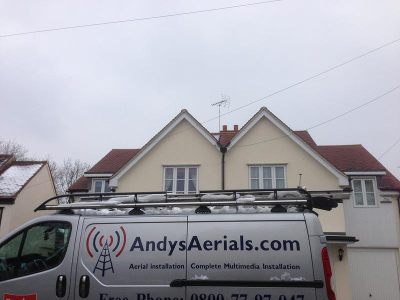 Image 14 - New TV aerial Gallywood Essex www.andysaerials.com
