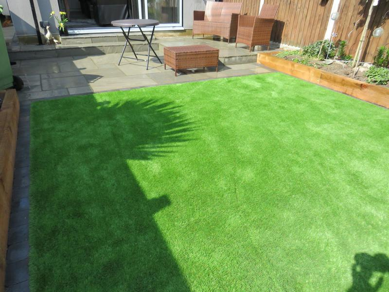 Image 25 - Artificial grass , , come in different shades and sizes.