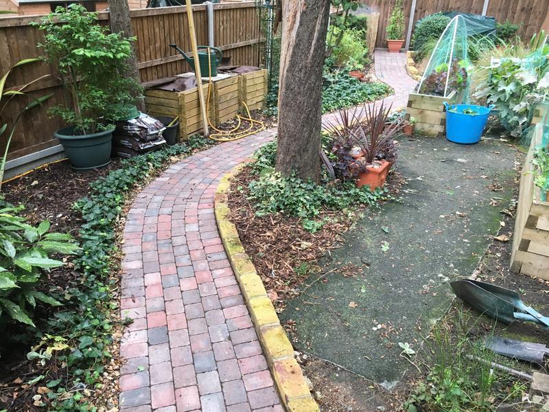 Image 142 - Block paving pathway Margate