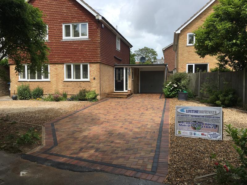 Image 79 - Block paving driveway greenhill