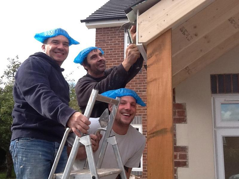 Image 9 - Dave, Phil and Tony, between them have over 40 years experience in building