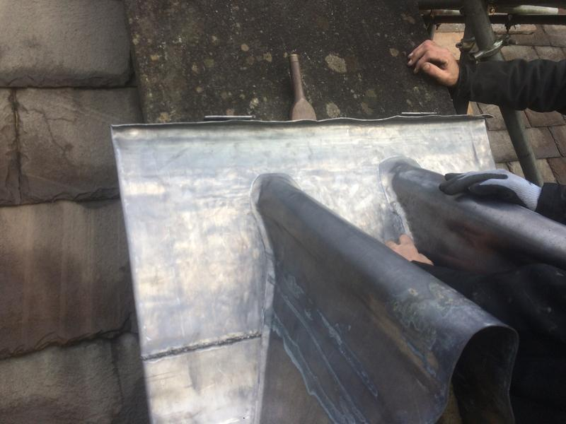 Image 47 - Lead detail before welding