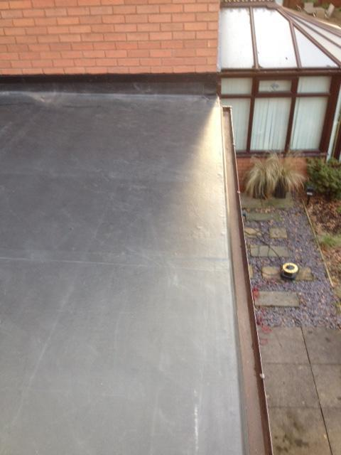 Image 13 - Flat Roof installed