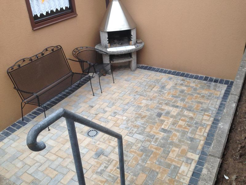 Image 4 - New patio installation with drainage system orpington
