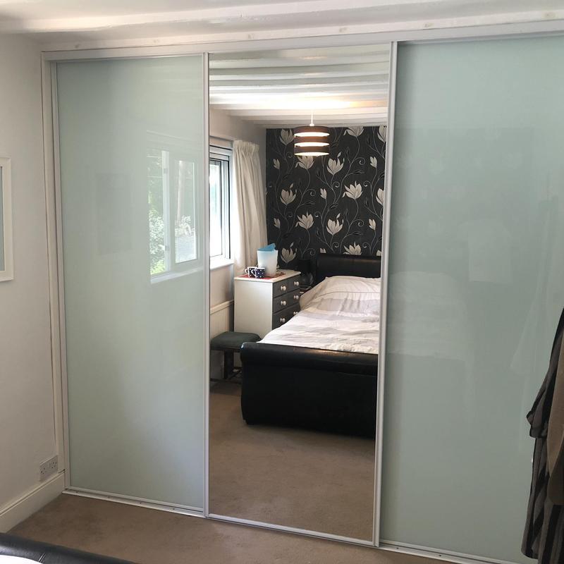 Image 1 - Install sliding wardrobe doors