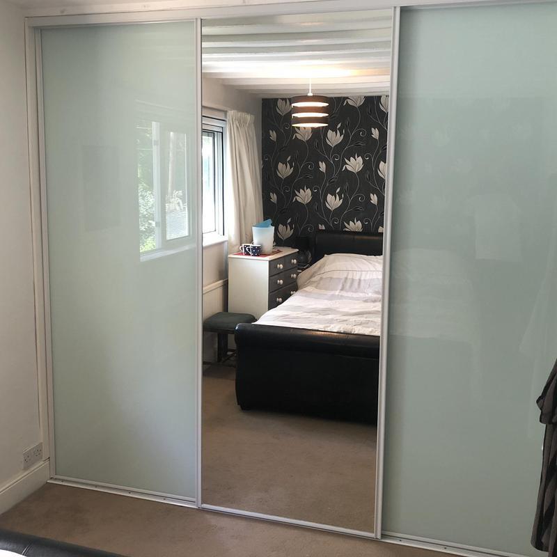 Image 24 - Install sliding wardrobe doors