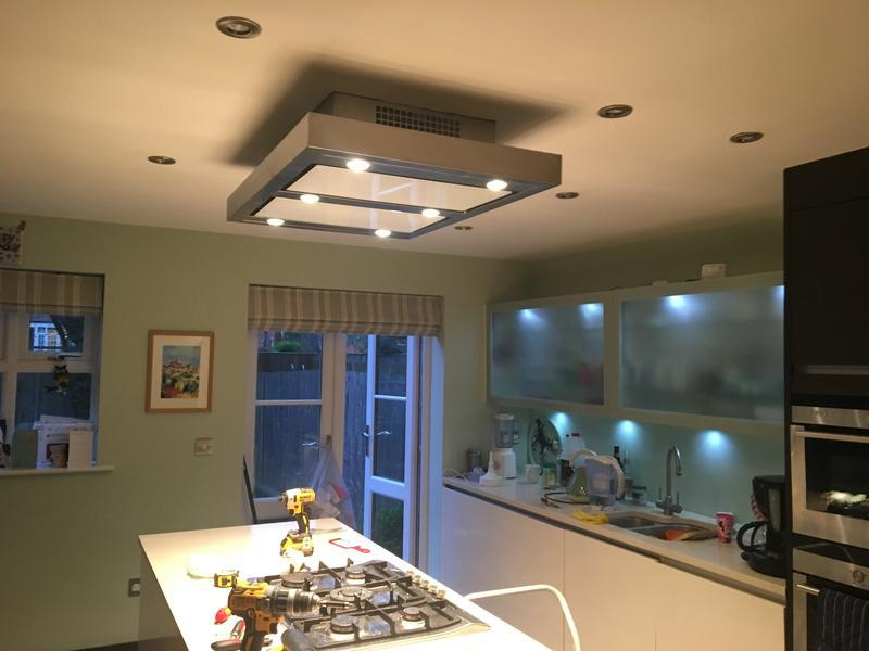Image 7 - New extractor fan and LED under counter lights