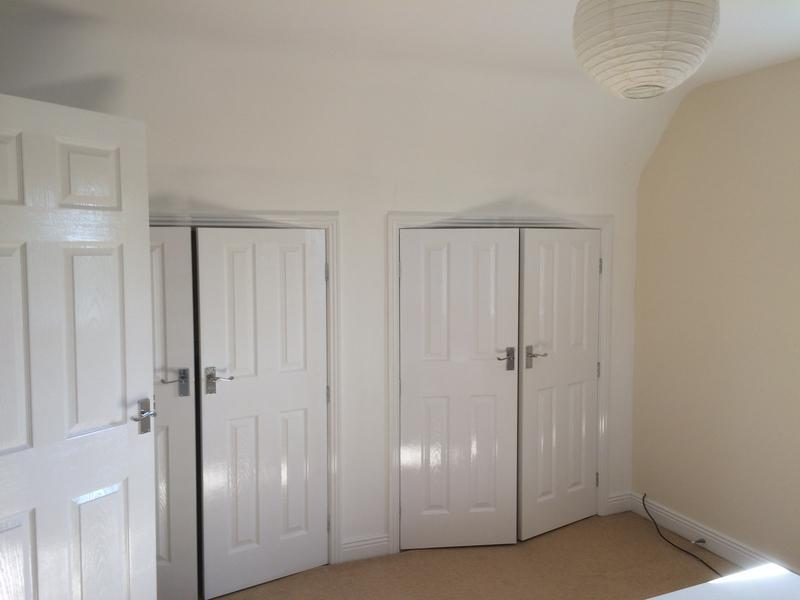 Image 12 - All woodwork completed using Dulux white gloss products