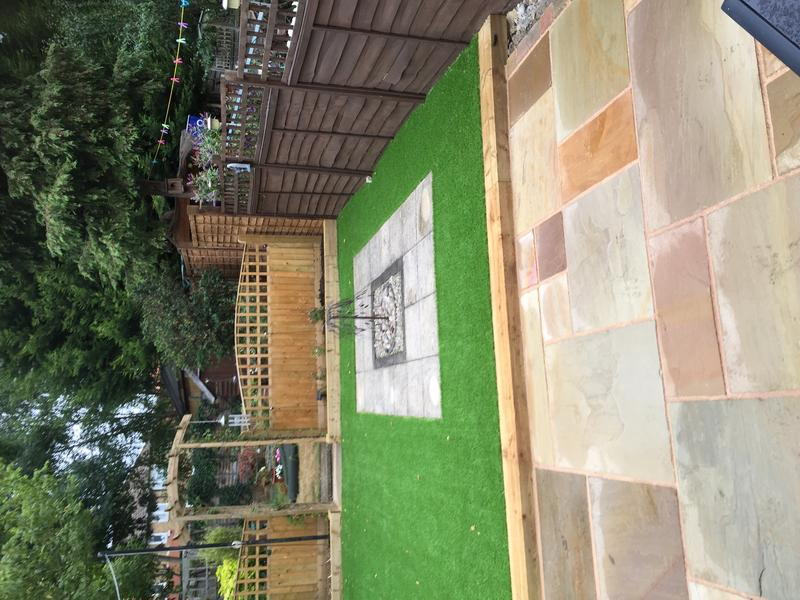 Image 27 - Patio And Artificial Lawn