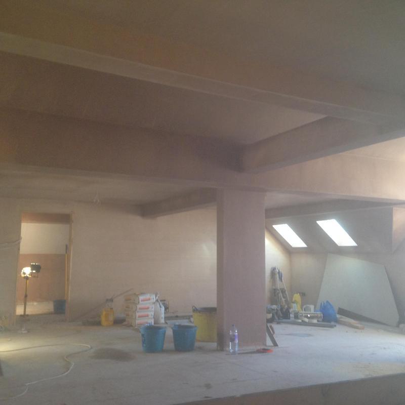 Image 21 - Huge loft space plastered