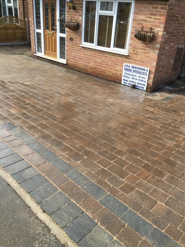 Image 11 - New block pave drive in Marshalls Tegular drive setts North Weald