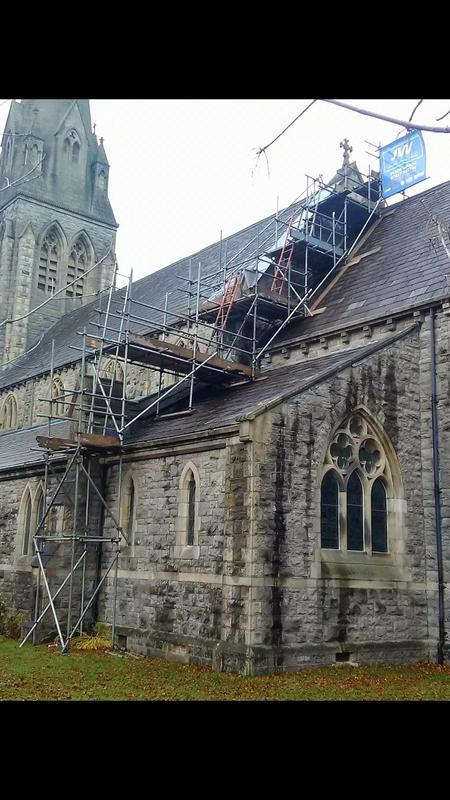 Image 49 - Scaffolding up