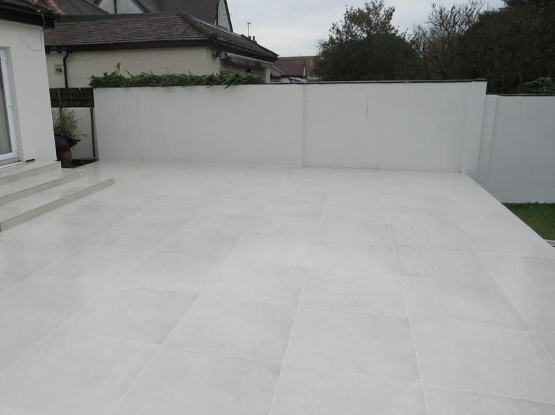Image 8 - Ikon white porcelain patio and steps