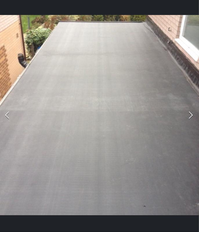 Image 4 - After flat rubber roof